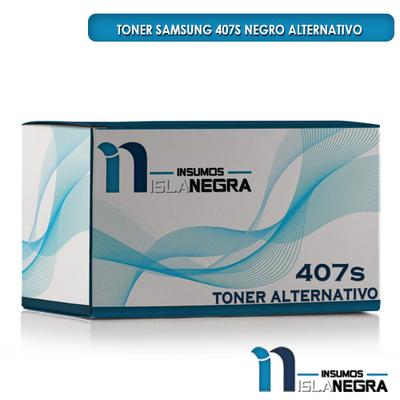 TONER SAMSUNG 407S NEGRO ALTERNATIVO