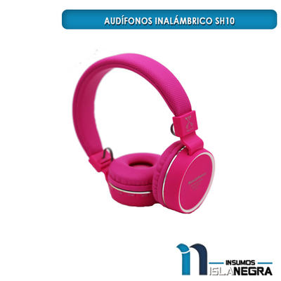 AUDIFONOS INALAMBRICO SH10