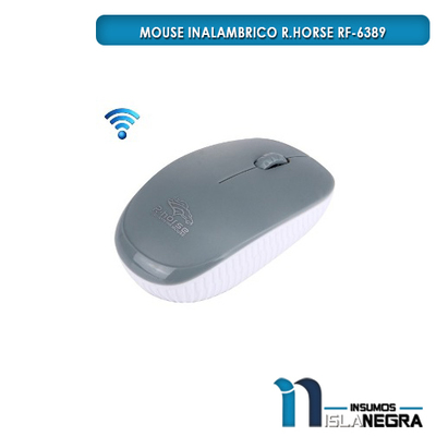 MOUSE INALAMBRICO R.HORSE RF-6389