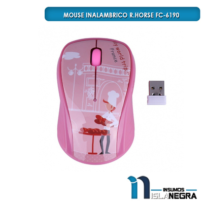 MOUSE INALAMBRICO R.HORSE RF-6190