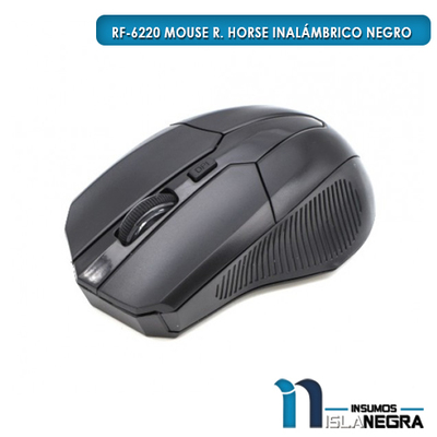 MOUSE INALAMBRICO R. HORSE RF-6220