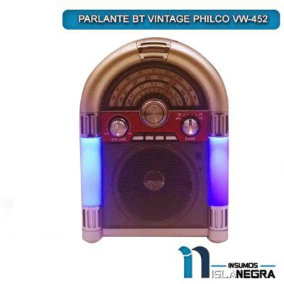 PARLANTE BT VINTAGE PHILCO VW-452