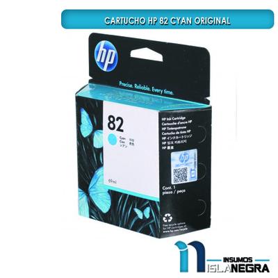 CARTUCHO HP 82 CYAN ORIGINAL