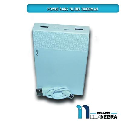 CARGADOR PORTATIL POWER BANK FIJUTEL 20000mAh
