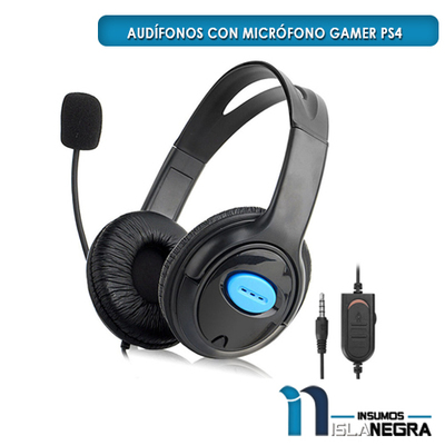AUDIFONOS CON MICROFONO GAMER PS4