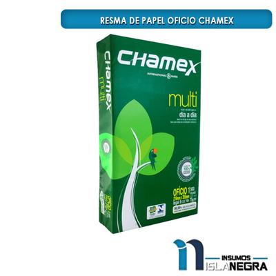RESMA DE PAPEL OFICIO CHAMEX