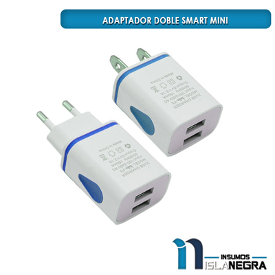 ADAPTADOR DOBLE SMART MINI