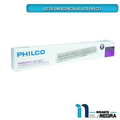 LAMPARA LED DE EMERGENCIA 60 LEDS PHILCO