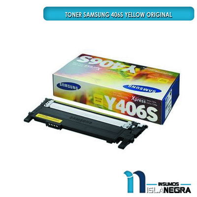 TONER SAMSUNG 406S YELLOW ORIGINAL