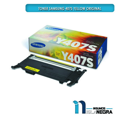 TONER SAMSUNG 407S YELLOW ORIGINAL