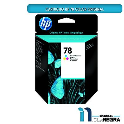 CARTUCHO HP 78 COLOR ORIGINAL