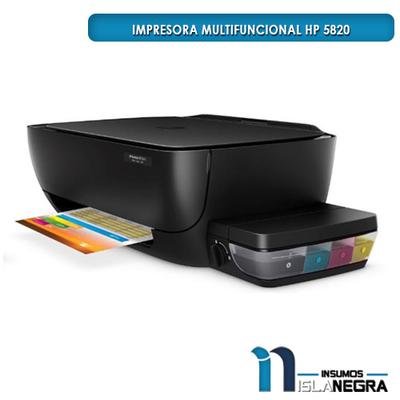 IMPRESORA MULTIFUNCIONAL HP 5820 WIFI