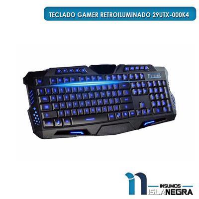 TECLADO RETROILUMINADO GAMER ULTRA 29UTX-000K4