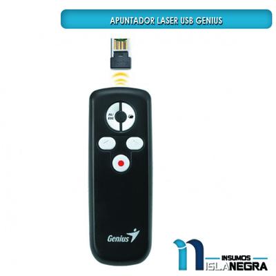 PRESENTADOR Y PUNTERO LASER USB GENIUS