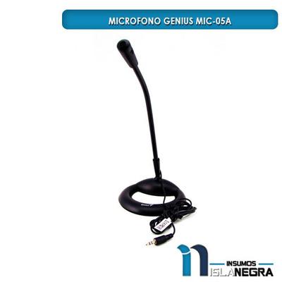 MICROFONO ESCRITORIO GENIUS MIC-05A