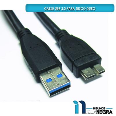 CABLE USB 3.0 PARA DISCO DURO 1M