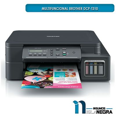 IMPRESORA MULTIFUNCIONAL BROTHER DCP-T310