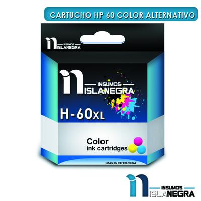 CARTUCHO HP 60 COLOR ALTERNATIVO