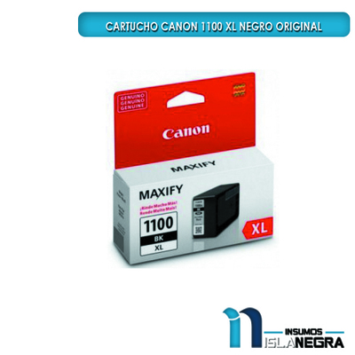 CARTUCHO CANON 1100 XL NEGRO ORIGINAL