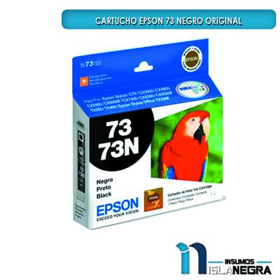 CARTUCHO EPSON 73 NEGRO ORIGINAL