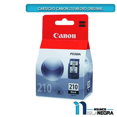 CARTUCHO CANON 210 NEGRO ORIGINAL