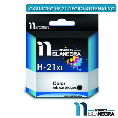 CARTUCHO HP 21 NEGRO ALTERNATIVO