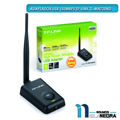 ADAPTADOR USB 150MBPS TP-LINK TL-WN7200ND