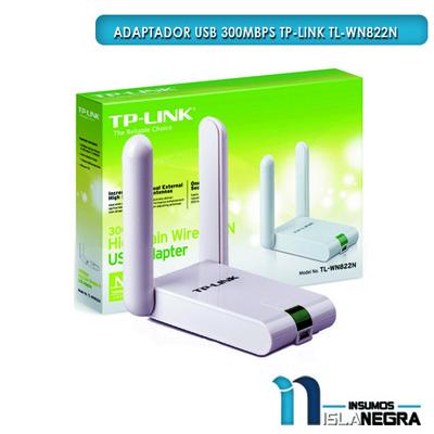 ADAPTADOR USB 300MBPS TP-LINK TL-WN822N