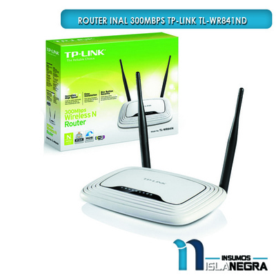 ROUTER INAL 300Mbps TP-LINK TL-WR841ND
