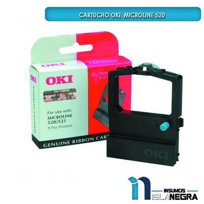 CARTUCHO DE CINTA OKI MICROLINE 520/521