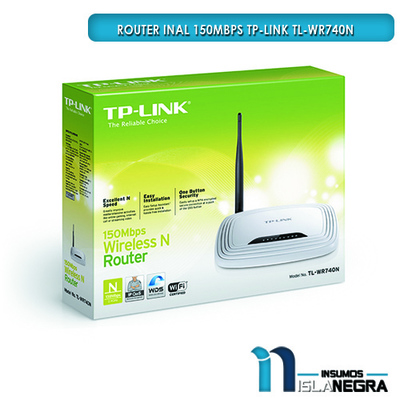 ROUTER INAL 150Mbps TP-LINK TL-WR740N