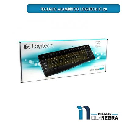 TECLADO ALAMBRICO LOGITECH k120