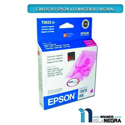 CARTUCHO EPSON 633 MAGENTA ORIGINAL