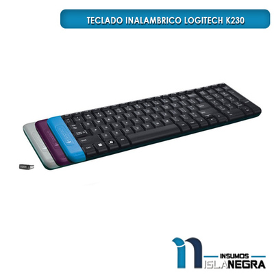 TECLADO INALAMBRICO LOGITECH K230