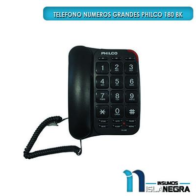 TELEFONO NUMEROS GRANDES PHILCO