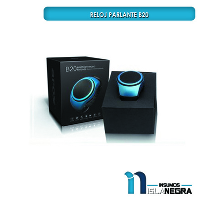 RELOJ PARLANTE RADIO BLUETOOTH