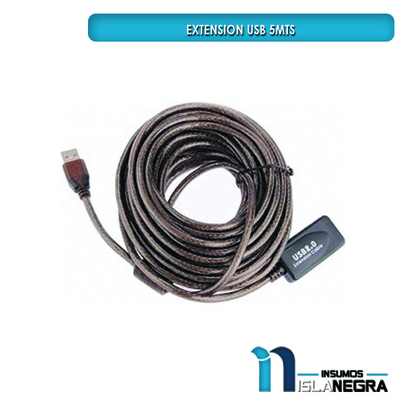EXTENSION USB 2.0 5M