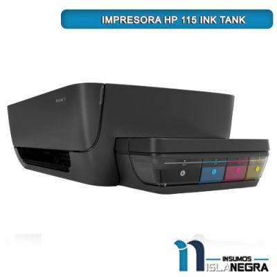 IMPRESORA HP 115 CON SISTEMA CONTINUO