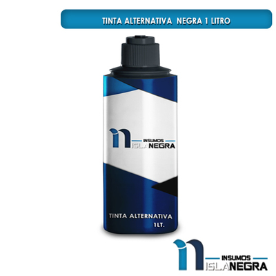 BOTELLA DE TINTA DE LITRO NEGRO ALTERNATIVA