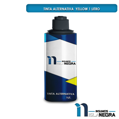 BOTELLA DE TINTA DE LITRO YELLOW ALTERNATIVA