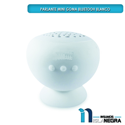 MINI PARLANTE BLUETOOTH GOMA 3W