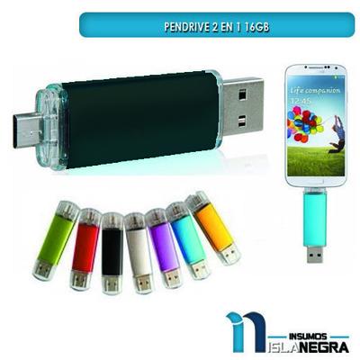 PENDRIVE FLASH 16GB PARA TELEFONO