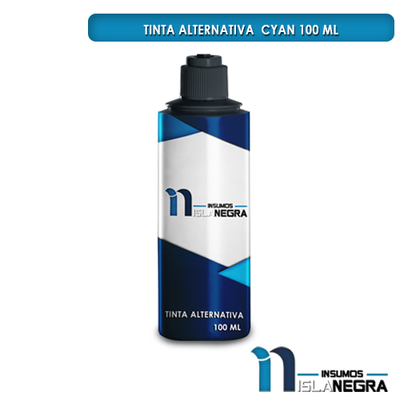 BOTELLA DE TINTA CYAN FUJIPRINT ALTERNATIVA (100ml)