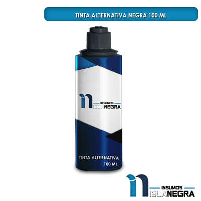 BOTELLA DE TINTA FUJIPRINT NEGRA (100ml)