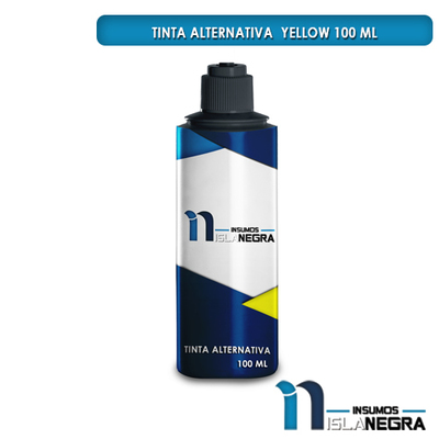 BOTELLA DE TINTA YELLOW FUJIPRINT ALTERNATIVA (100ml)