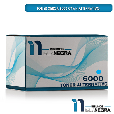 TONER XEROX 6000 CYAN ALTERNATIVO
