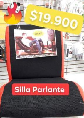 SILLA DE JUEGO CON PARLANTE INTEGRADO