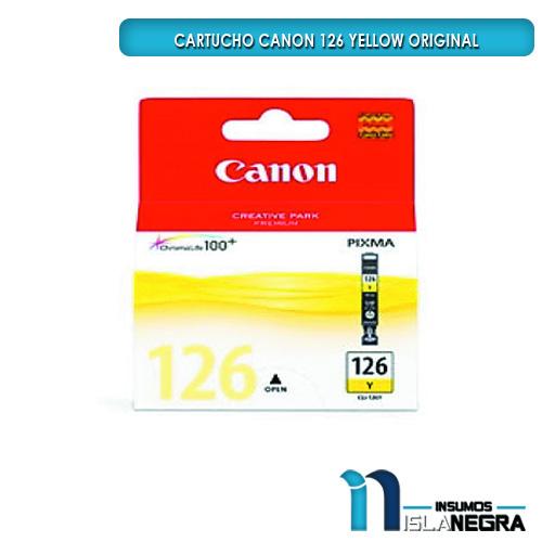 CARTUCHO CANON 126 YELLOW ORIGINAL