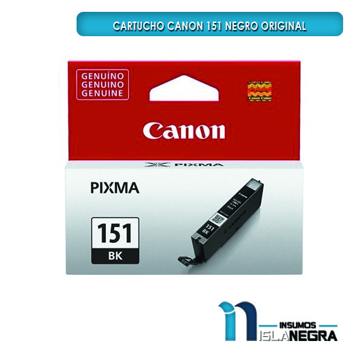 CARTUCHO CANON 151 NEGRO ORIGINAL