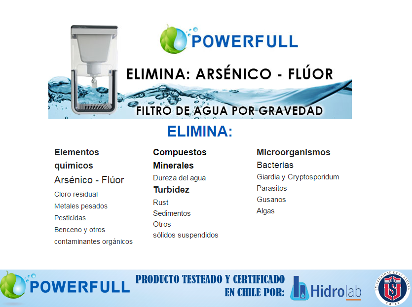 FILTRO DE AGUA POWERFULL